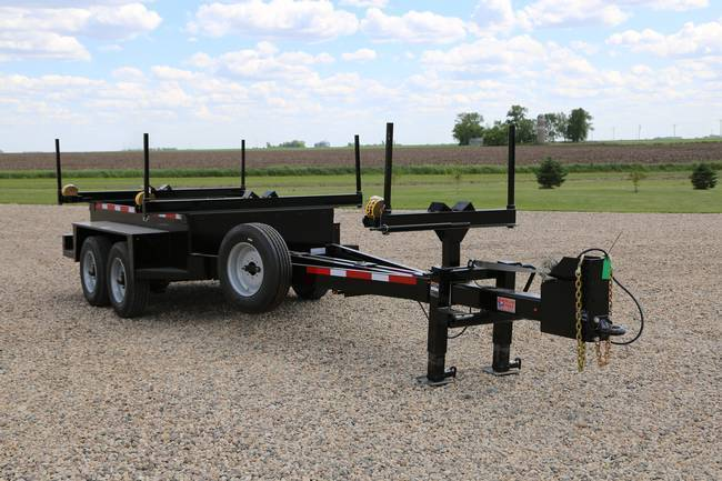 More about the 'Pole & Material Trailer PMT 20K' product